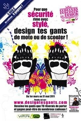 Concours Europeen du Design: la 2nde édition s'intéresse aux gants.