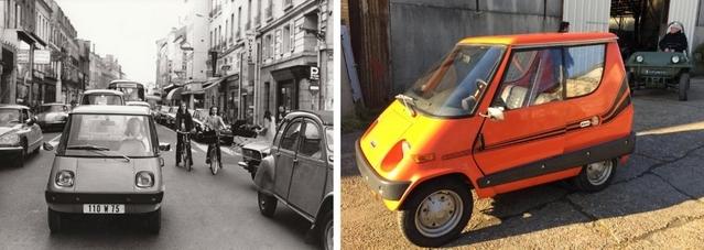 La Minima créée par Victor Bouffort préfigurait dès 1973 la Smart et le service Autolib'.