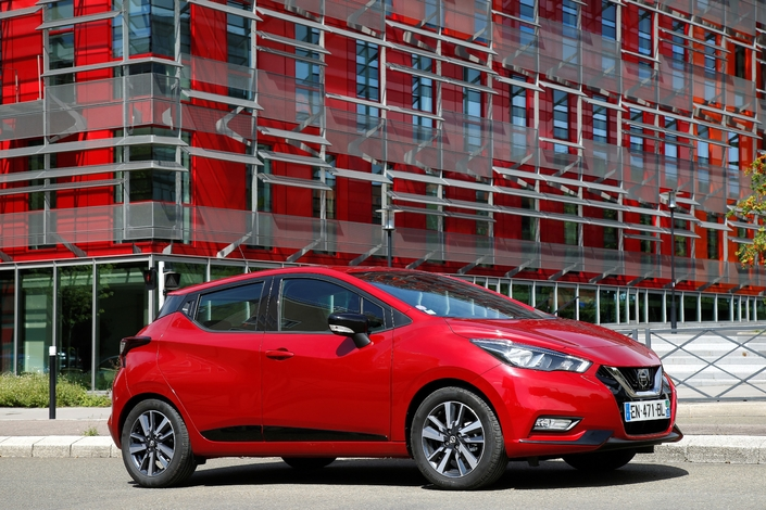 Essai - Nissan Micra 1.0 71 ch: la plus accessible