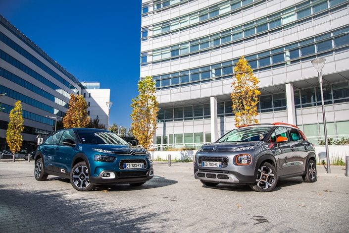 Comparatif - Citroën C4 Cactus VS CitroënC3 Aircross : histoire de famille