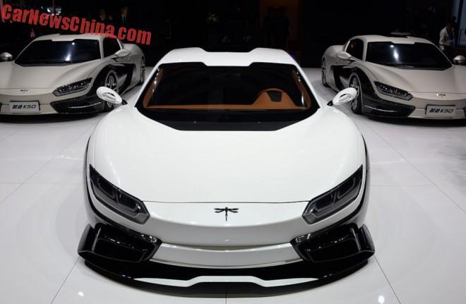 Shanghai 2015 : Qiantu K50 Event, la supercar électrique de Chine