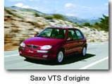 Citroën Saxo DDT Production : une citadine au tuning aguicheur