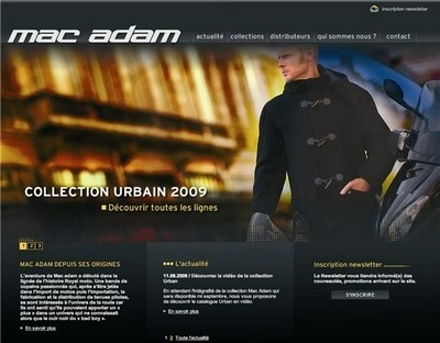 Un nouveau site Mac Adam... en ligne.