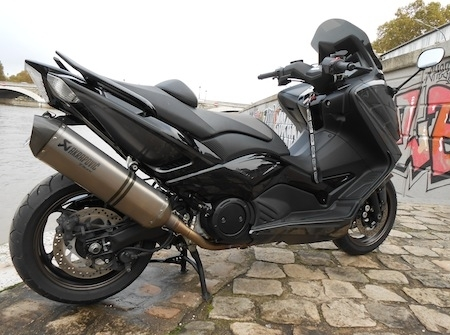 Yamaha Pons Bastille : T-Max 530 Smart Grey & Black