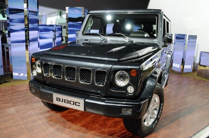Shanghai 2015 : BAIC BJ20 concept et BJ80C