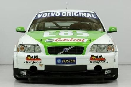 STCC : une Volvo C30 à l'E85 en préparation !