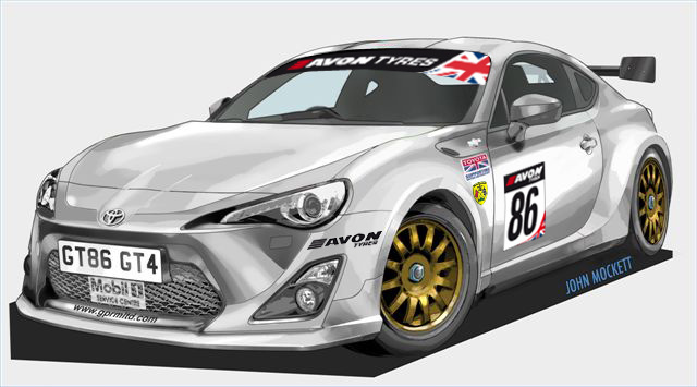 Une Toyota GT86 GT4 pour l'Angleterre