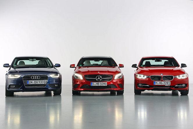 Audi-BMW-Mercedes: qui est le patron?