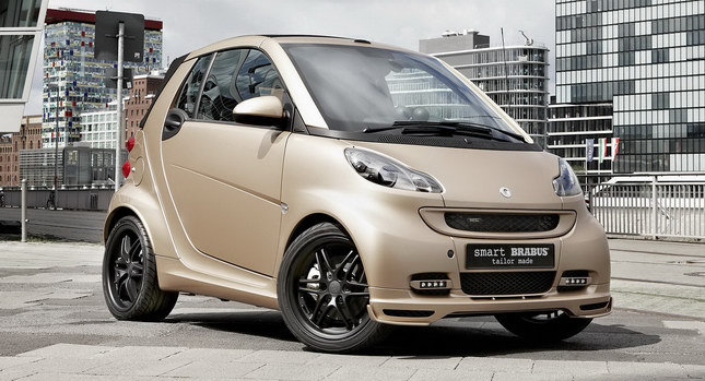 Salon de Francfort 2011 - Smart Brabus tailor made by WeSC