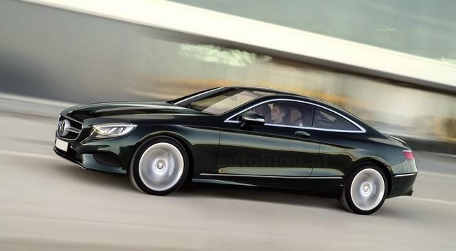 Première photo de la Mercedes Classe S Coupé