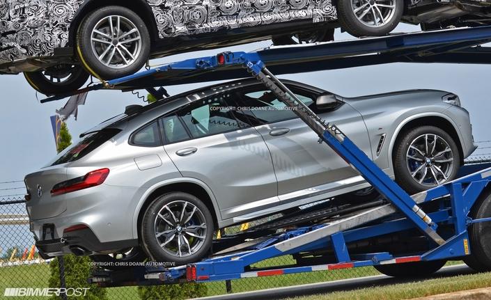 Surprise : le nouveau BMW X4 sans camouflage