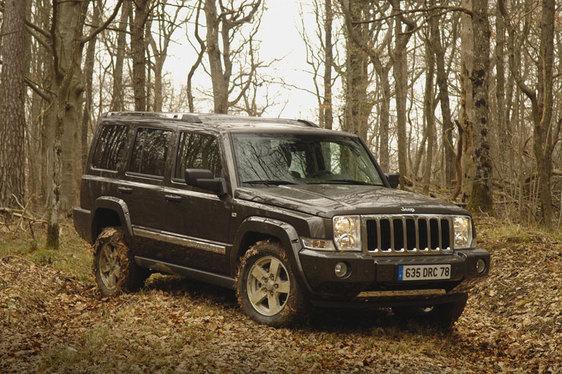 Essai - Jeep Commander : deux places de plus et un look de baroudeur