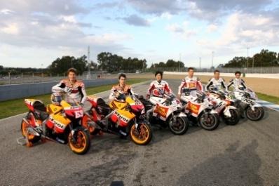 Moto GP - Qatar: Pour résoudre ses problèmes, le HRC revient à la moto 2007 !