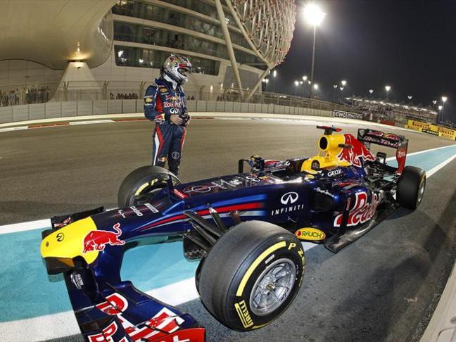 Vettel Abu Dhabi