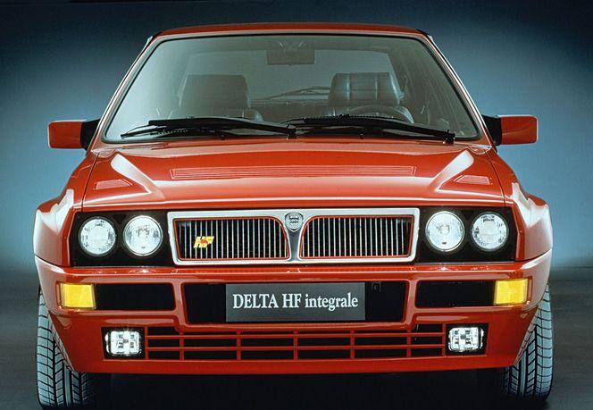 Salon de Genève 1989 - Lancia y présentait sa Delta HF Integrale 16v