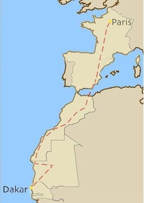 La Légende des Héros, objectif Dakar, c'est parti.