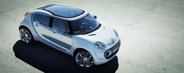Citroën : le concept-car C-Cactus symbolise sa conception de la voiture écolo