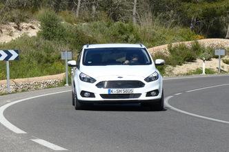 Nouveau Ford S-Max : en avant-première, les photos de l'essai