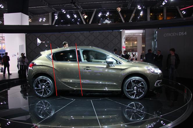 Citroën DS4 et la rumeur des vitres arrière : on a le fin mot de l'histoire !