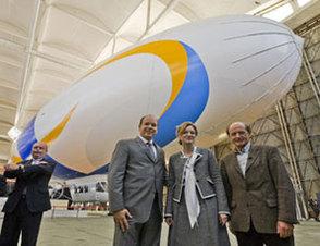 Air Liquide est le partenaire technique de l'expédition Total Pole Airship