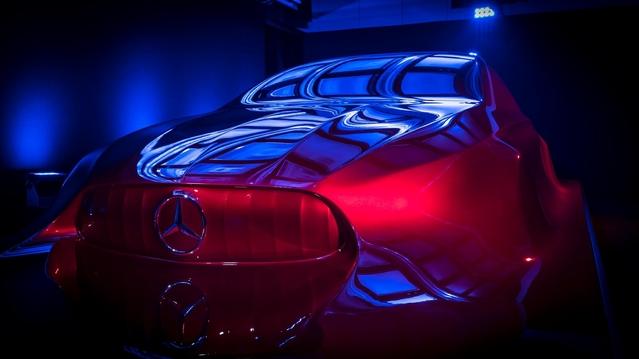 Ceci préfigure le futur design Mercedes