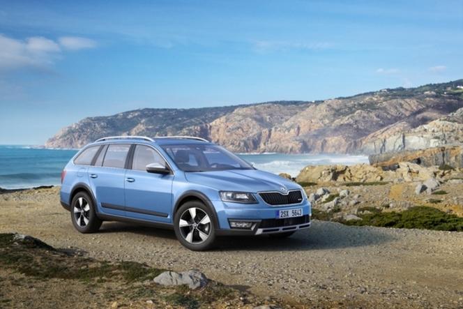 Toutes les nouveautés du salon de Genève 2014 - Skoda Octavia Scout : VTC, véhicule tout chemin