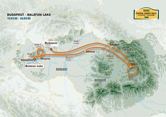 Dakar Series : Le parcours
