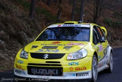 Monte-Carlo : Début prometteur pour la Suzuki SX4 WRC