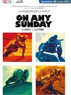 "Vu pour vous: DVD ""On Any Sunday The Next Chapter""."
