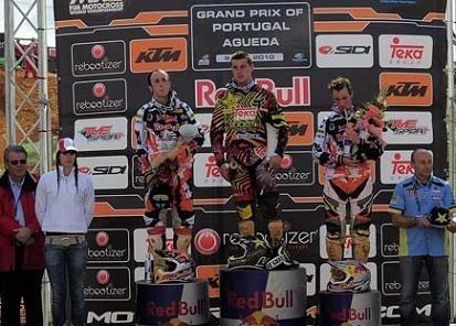 Motocross mondial :  Agueda, Desalle gagne le GP, mais Cairoli reste le favori