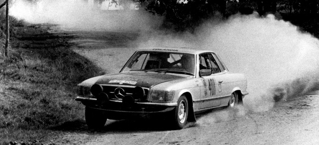 """450 SLC """"Rallyefahrzeug"""""""