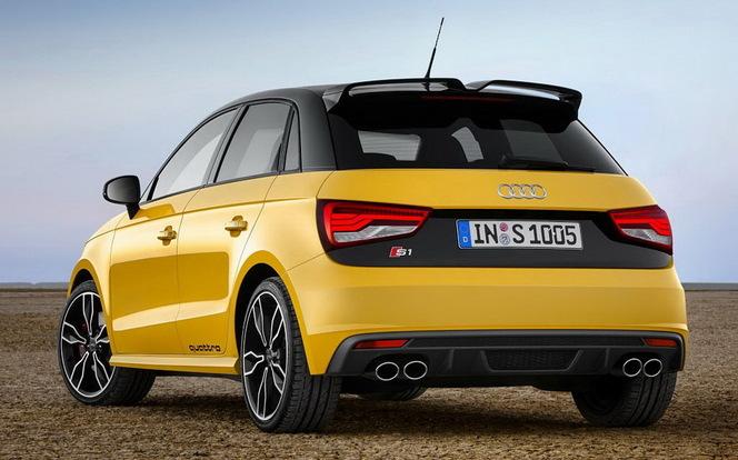 Toutes les nouveautés du salon de Genève 2014 – Audi S1 : ébouriffante