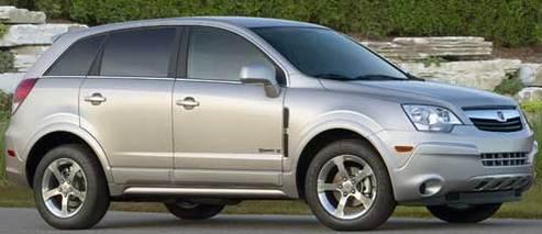 General Motors : zoom sur le VUE Green Line de Saturn hybride mis sur le marché en novembre