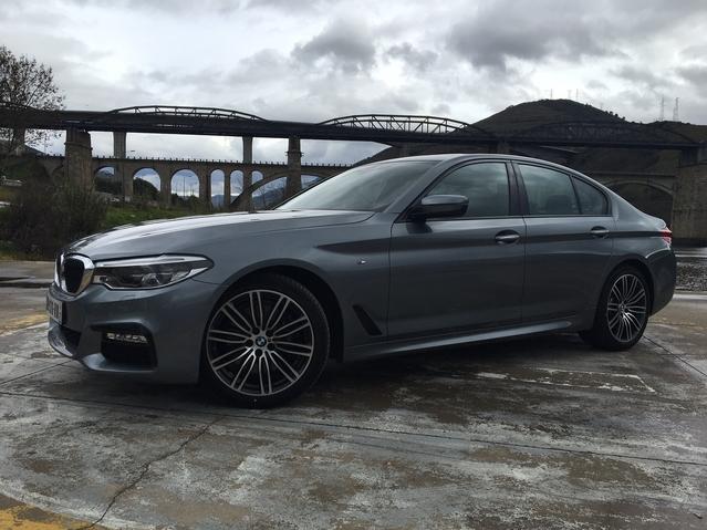 BMW Série 5 G30 2017 : les premières images de l'essai en live + premières impressions de conduite