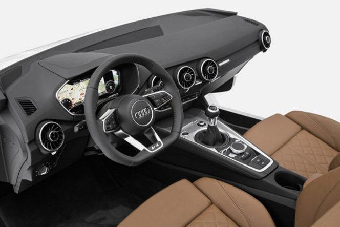 Toutes les nouveautés du salon de Genève 2014 - Audi TT : ultra-light