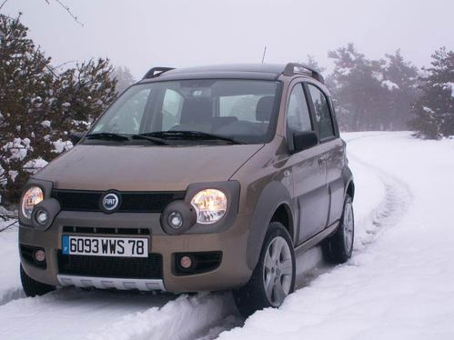 fiat panda 4 4 cross occasion tracteur agricole. Black Bedroom Furniture Sets. Home Design Ideas