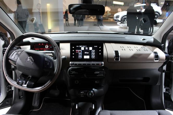 Toutes les nouveautés du salon de Genève 2014 - Citroën C4 Cactus : conceptuelle