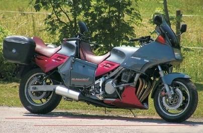Suzuki GSXR Hayabusa moto Tandem
