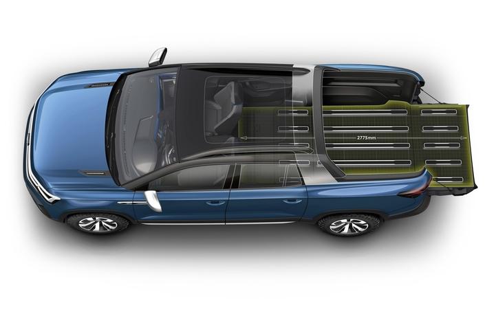 Volkswagen dévoile le concept de pick-up Tarok