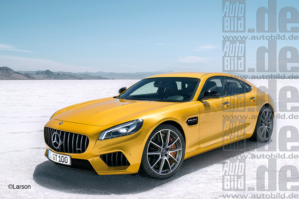 future mercedes amg gt berline comme a. Black Bedroom Furniture Sets. Home Design Ideas
