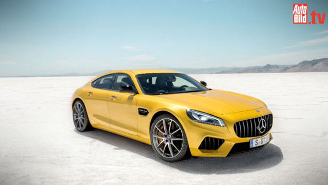 Future Mercedes-AMG GT berline : comme ça ?
