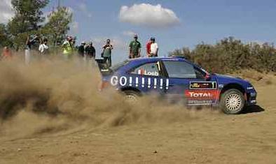 WRC Chypre: Marcus est une roche friable