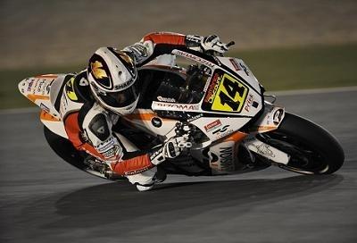 Moto GP - Qatar D.1: Randy a eu quelques soucis