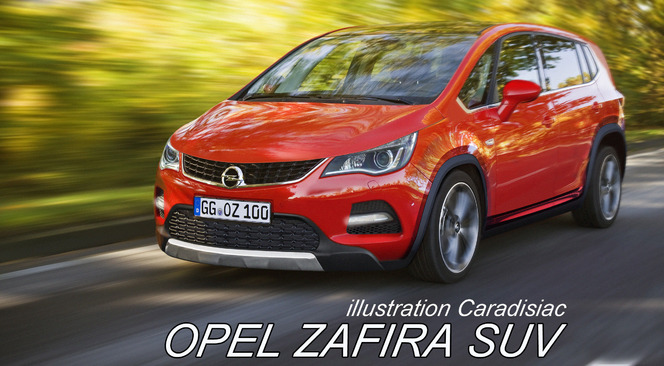 en 2017 l 39 opel zafira se transformera en suv. Black Bedroom Furniture Sets. Home Design Ideas