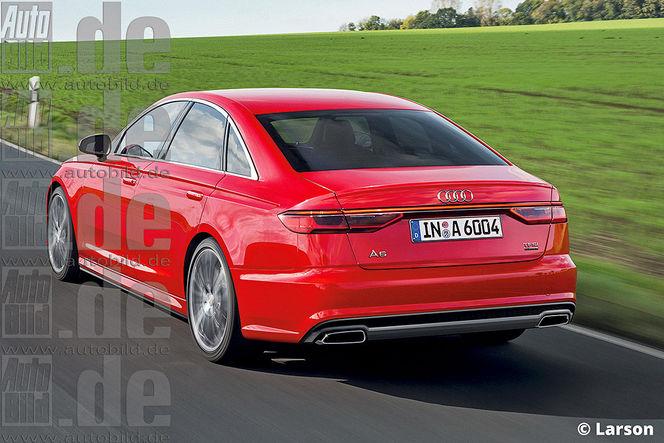 Future Audi A6 : comme ça ?