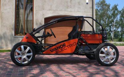 Renault Twingo I: électrique et lituanienne