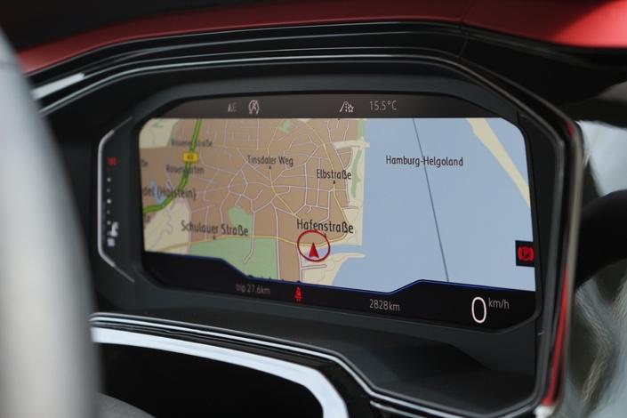 Le cockpit numérique est proposé en option ou sur le haut de gamme.