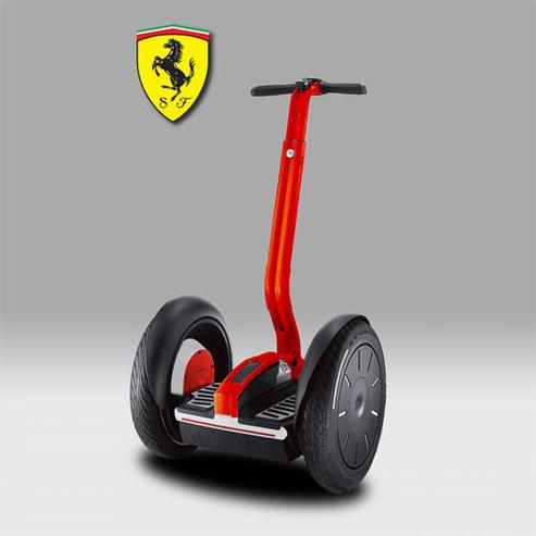 Ferrari : le Segway, son transport écolo de luxe !