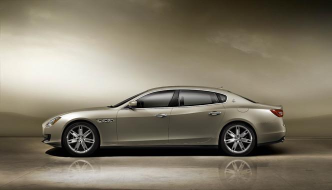 Voici la nouvelle Maserati Quattroporte!