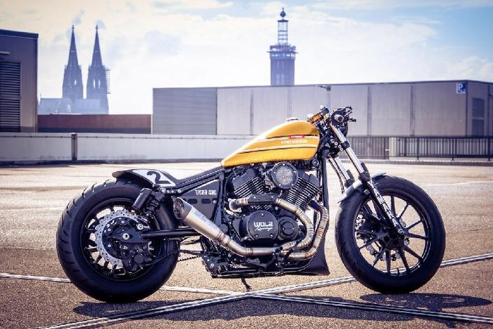 Custom Bike Intermot: voici la Yamaha XV 950R signée Walz